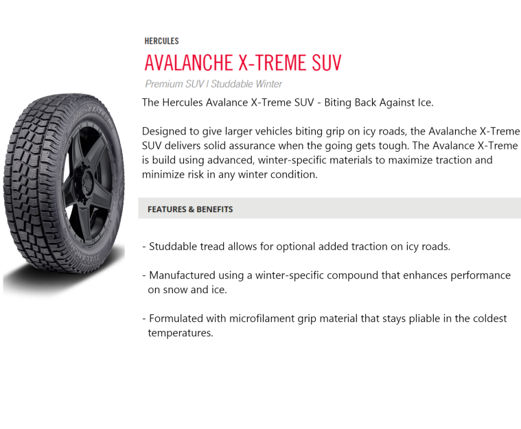 Avalanche Xtreme SUV done